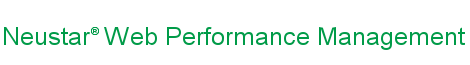 Neustar Web Performance Management